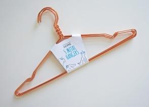 Primark Copper Hangers - £3