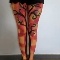 Abstract Bodypaint
