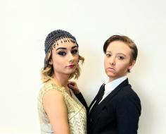 Great Gatsby Glam and Guy Transformstion