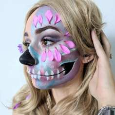 Metallic Sugarskull Paint - Georgina