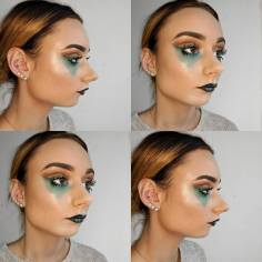 Ocean Themed Avant Garde Make Up - Georgina