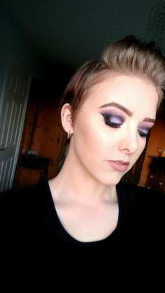 Purple Smoked Crease