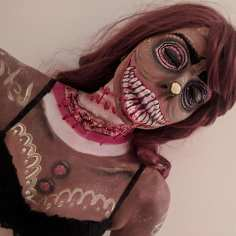 Twisted Christmas Gingerbread Bodypaint & SFX